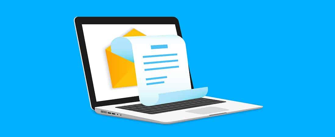 Efficiënte nieuwsbrief